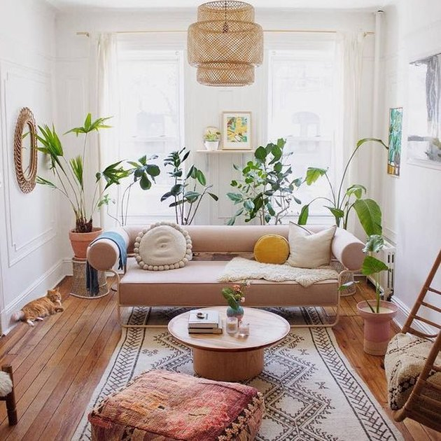 Ideas For Bohemian Living Room