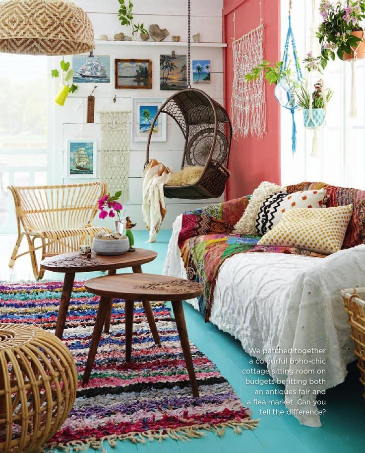 Ideas For Bohemian Living Room
