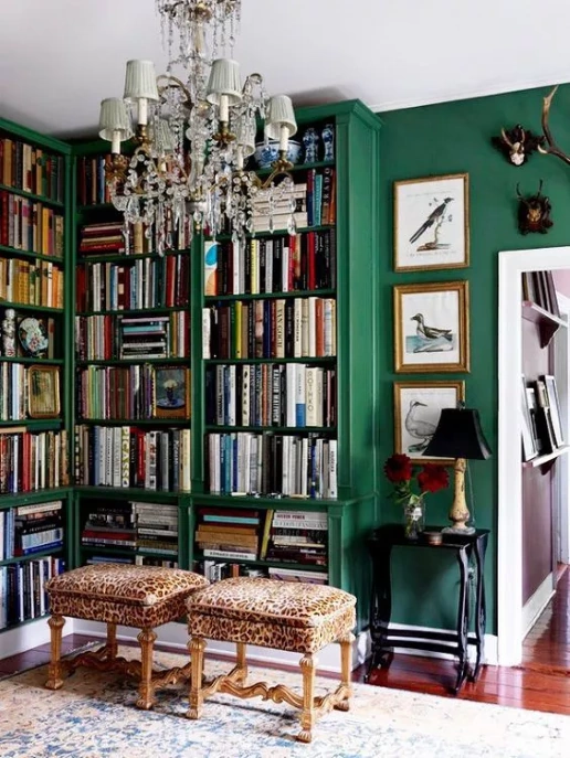 Affordable home library ideas